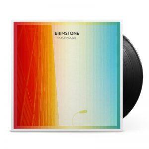 KAR082 Karisma Records - Brimstone - Mannsverk - Vinyl cover