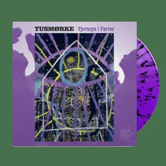 Tusmørke - Fjernsyn i farver splatter LP