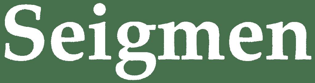 Seigmen logo white
