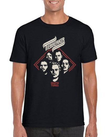 Tiebreaker Death Tunes t-shirt
