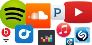 Listen to album in your preferred digital music service