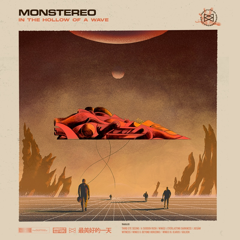 Monstereo - In the hollow of a wave CD
